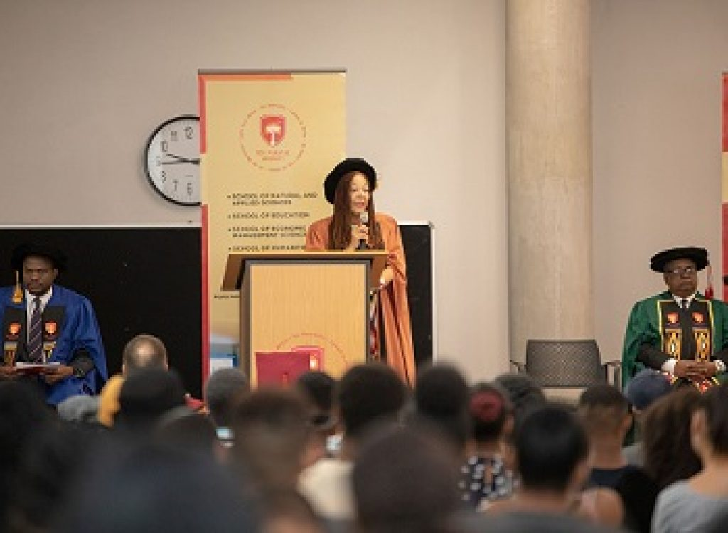 Sol Plaatje University welcomes its biggest  first-entering class