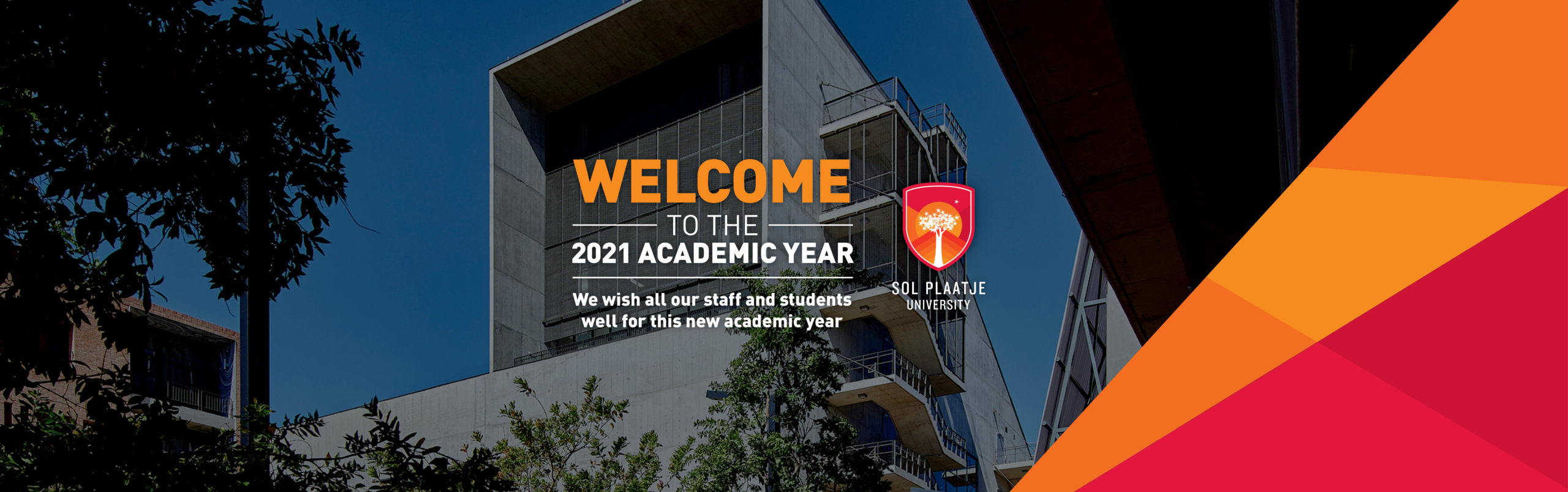 Welcome to the 2021 academic year