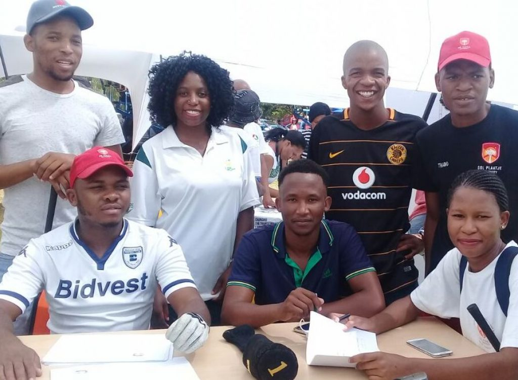 Former SRC president flies flag for Northern Cape sport