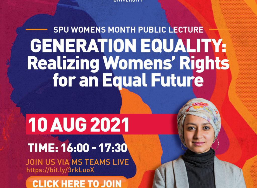 Women's Month Public Lecture