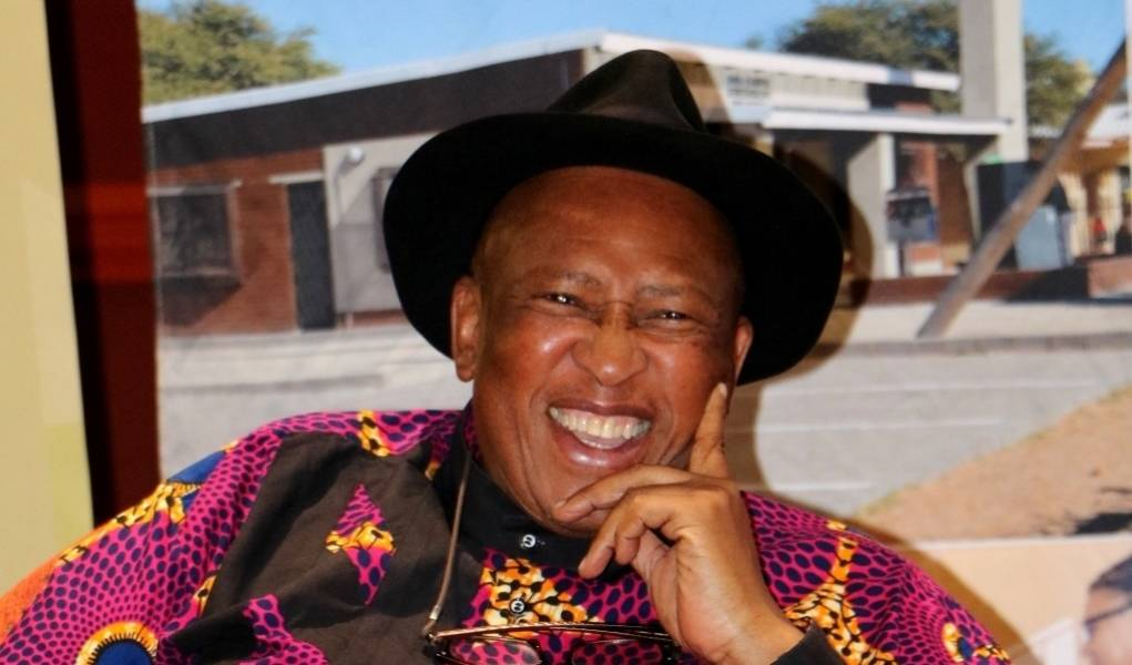 Zakes Mda at his book launch